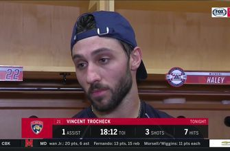 Vincent Trocheck talks Panthers win, return to lineup