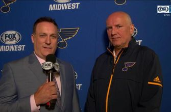 Doug Armstrong: 'Our team never got too high or too low'
