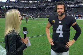'He has the ear of the locker room' - Derek Carr speaks on coach Rich Bisaccia after Raiders' 33-22 victory over Eagles