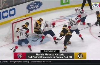 Panthers, Bruins clash with both teams hungry for a win