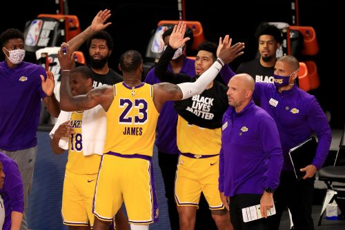 NBA power rankings: Lakers pull ahead, Rockets surge after first week of season's reboot