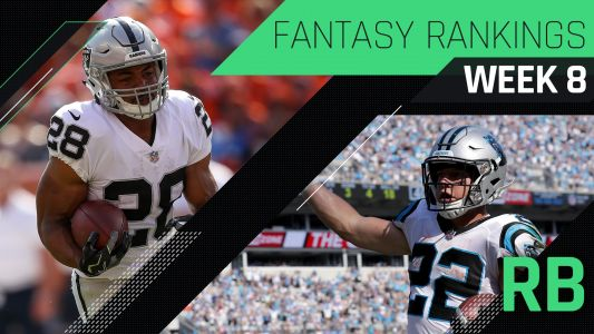 Week 8 Fantasy RB Rankings