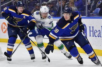 Tarasenko and Thomas out for Blues' matchup with Golden Knights