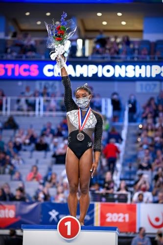Simone Biles: The Olympic gymnast's legendary career in pictures