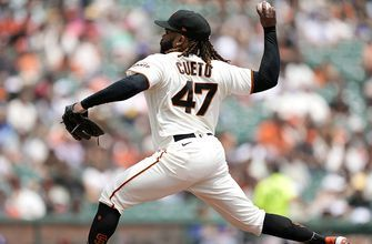 Johnny Cueto blanks Dodgers, 5-0, Giants widen lead in NL West to three games