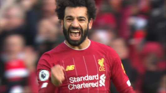 Salah puts Liverpool ahead against Watford