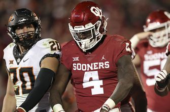 No. 6 Oklahoma barely edges Oklahoma State 48-47 as Bedlam lives up to its name