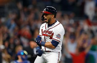 Eddie Rosario rocks Dodgers with three-run home run in Braves' 4-2 victory over Dodgers