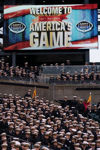 Army-Navy game: White Power hand symbol appears to be used during pregame broadcast