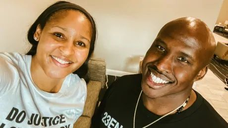 Missouri man freed from prison with help from WNBA star Maya Moore