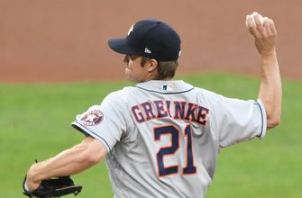 Zack Greinke spins seven strong innings, strikes out four as Astros beat Orioles, 3-1