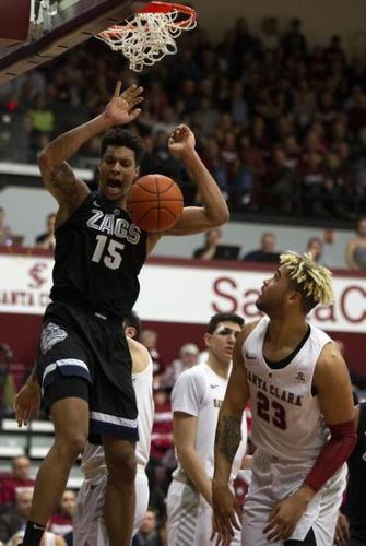 Gonzaga Bulldogs vs. Santa Clara Broncos - 1/16/20 College Basketball Pick, Odds & Prediction