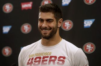 Garoppolo gets 49ers to Super Bowl with handoffs not throws