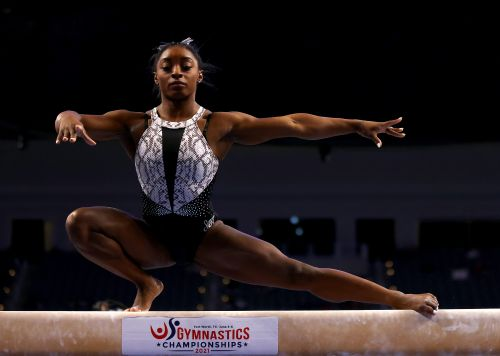 Opinion: Another day, another record as Simone Biles wins seventh US gymnastics title