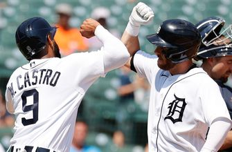 Robbie Grossman's home run helps Tigers win rubber match with Mariners, 8-3