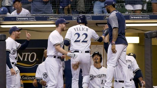 MLB wrap: Brewers top Dodgers to snap 7-game losing streak