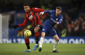 Chelsea's EPL slump continues with 1-0 loss to Bournemouth