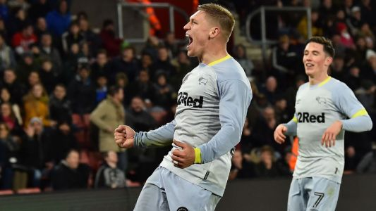 Derby County knock Southampton out of FA Cup in perfect penalty shootout
