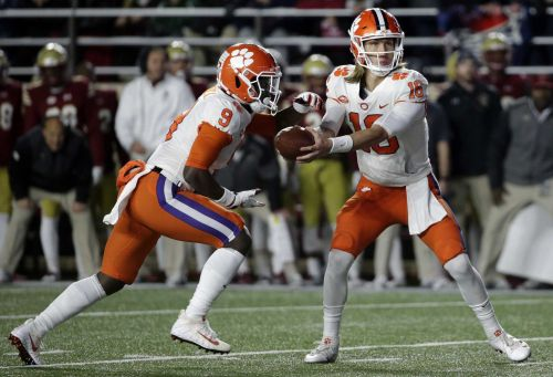 BC QB Brown leaves Clemson game in 1st quarter