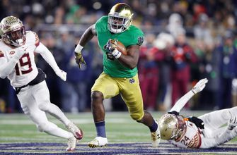 Dexter Williams, No. 3 Notre Dame prove to be too much for Florida St