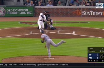 WATCH: Ender Inciarte launches first home run in a month into Chop House
