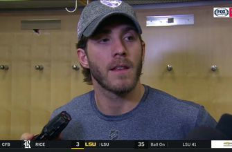 Mike Hoffman on extending his point streak to 15 games, loss to Rangers