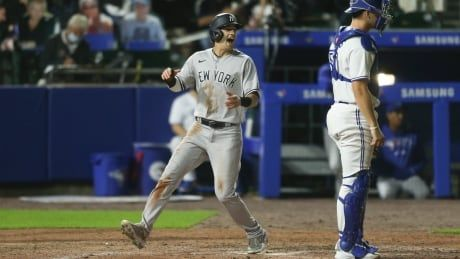 Yankees erase 3-run deficit as Blue Jays allow latest lead to slip away