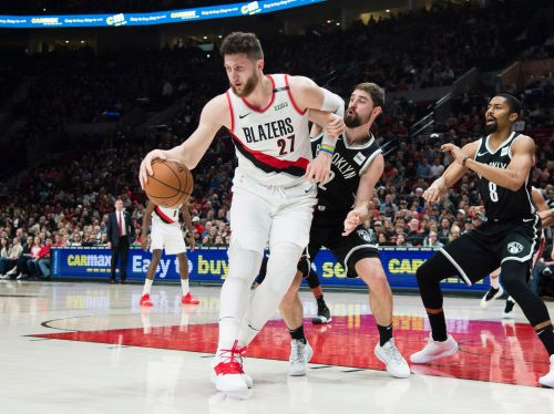 Jusuf Nurkic suffers gruesome leg injury in Trail Blazers' game against Nets