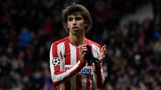Joao Felix suffers knee injury in Atletico Madrid training