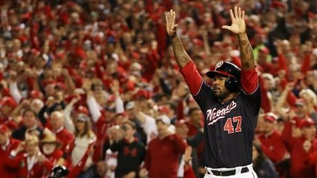 Monumental 1st inning sends Nationals to 1st World Series in franchise history