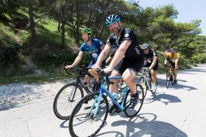 Lawrence Dallaglio launches Track Fest cycling event at Britain's iconic motor circuit