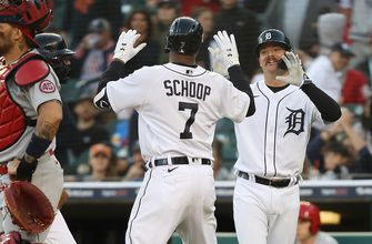 Jake Rogers and Jonathan Schoop each drive in three runs, Tigers beat Cardinals, 8-2