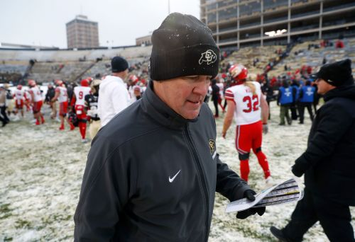 Colorado fires coach Mike MacIntyre after 6 straight losses