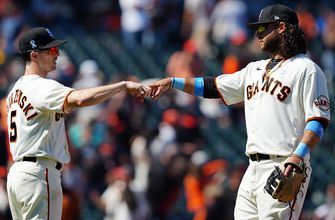 Giants overpower Phillies with the long ball, win 11-2