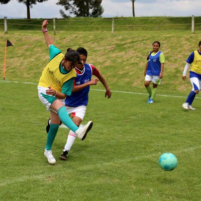 Colombianitos Foundation: Supporting vulnerable youngsters through football