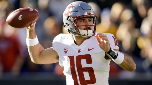 College football scores, schedule, games today: No. 8 Washington State, No. 4 Michigan in action
