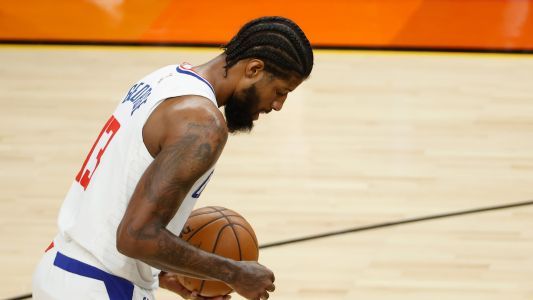 Clippers' Paul George misses crucial free throws in stunning Game 2 loss to Suns