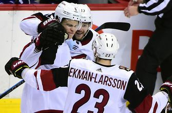 Galchenyuk lifts Coyotes to huge OT win over Canucks