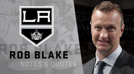 LA GM Rob Blake on the Kings Signing Danault, Edler, and the Plan Moving Forward