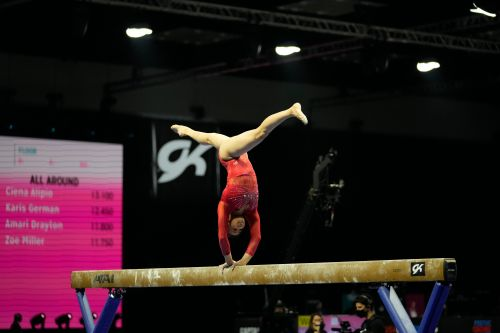 Olympic hopeful Sunisa Lee gets a big boost from father's presence at U.S. gymnastics championships
