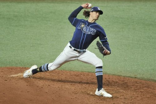 Rays' Tyler Glasnow blames MLB's ban on foreign substances for UCL injury