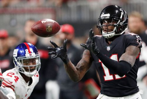 Ryan throws for 379 yards, Falcons beat Giants 23-20