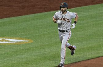 Duggar dinger sparks Giants in 3-1 win over Pirates