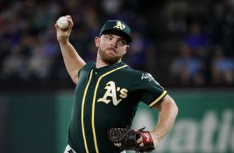 A's Liam Hendriks helps fire victims back home in Australia