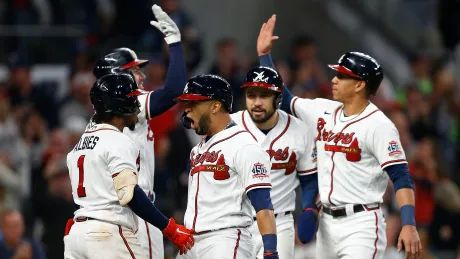 Atlanta punches ticket to World Series for 1st time since 1999