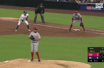 HIGHLIGHTS: Padres fall to Reds 4-1 in series opener