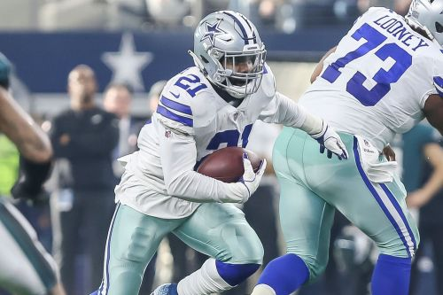 Cowboys' Elliott first to be fined this season for helmet-led hit