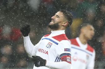 Lyon rescues draw at Shakhtar to edge into knockout rounds