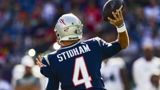 Patriots might not see Jarrett Stidham as NFL ready: 'Brian Hoyer will be the starter'