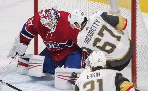 Canadiens spoil Pacioretty's return with win over Golden Knights